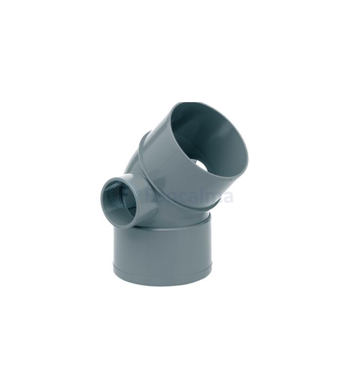 CODO DOBLE TOMA D 110X45   CDT-02